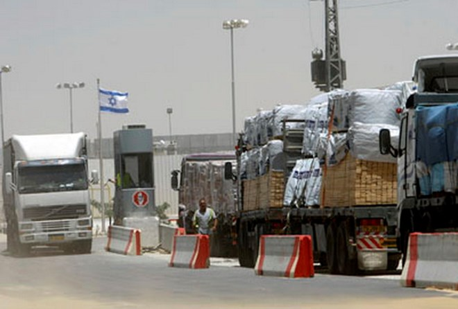 500_trucks_enter_Gaza_Strip