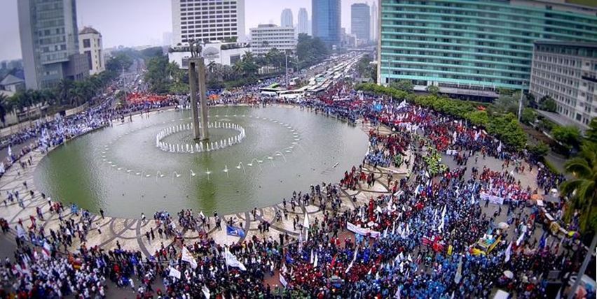 protestdemonstrationjakarta_kompas